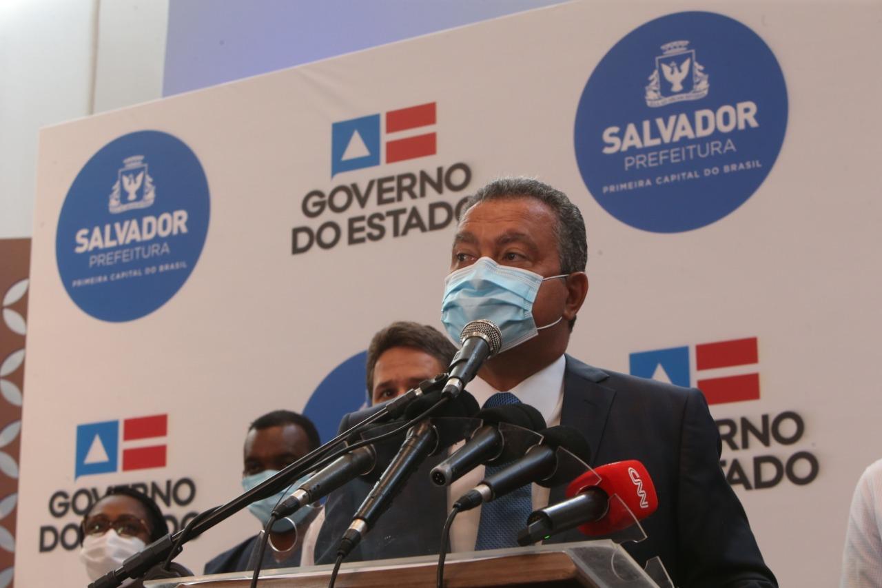 GOVERNADOR ANUNCIA SUSPENSÃO DE ATIVIDADES NÃO ESSENCIAIS NO FIM DE SEMANA